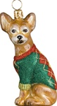 Chihuahua with Argyle Sweater