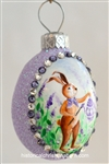 Miniature Egg: Lavender Plein-Air