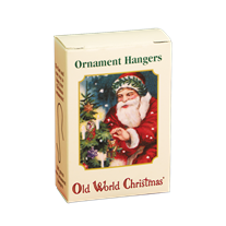 100 Green Ornament Hangers
