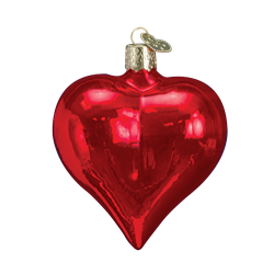 Shiny Red Heart