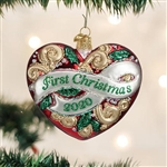 2020 First Christmas Heart