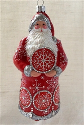 Bentley Claus/Red & Silver