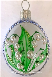 Lilies of the Bois Egg/Blue
