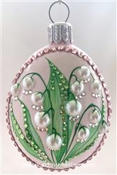 Lilies of the Bois Egg/Pink