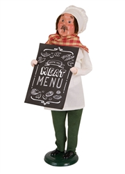 Butcher with Chalkboard
