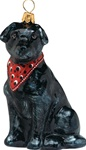 Labrador Retriever Bandana Black